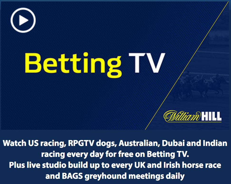 William Hill Horse Racing Live Streaming