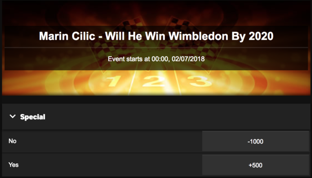Marin Cilic To Win Wimbledon by 2010?