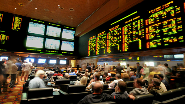 Mirage sportsbook in Las Vegas