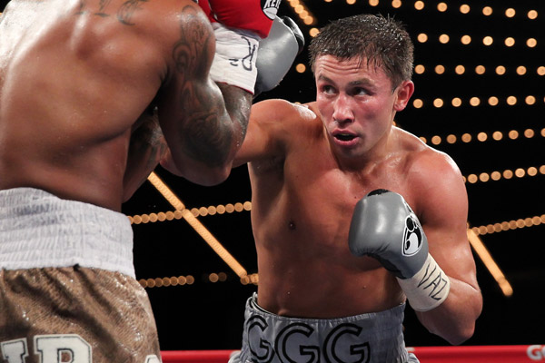 Gennady Golovkin packs some serious power.