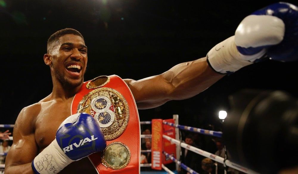 Anthony Joshua enters Saturday as the heavy favorite.