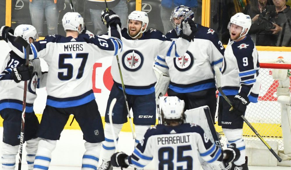 The Jets rated as the NHL's best regular-season team last year.